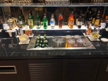 british airways lounge singapore hochprozentiger alkohol