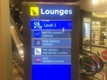 british airways lounge singapore lounges terminal 1