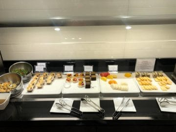 british airways lounge singapore obst kaese cakes