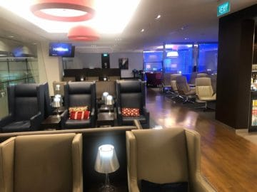 british airways lounge singapore sessel stuehle