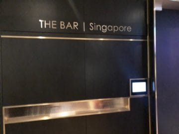 british airways lounge singapore the concorde bar