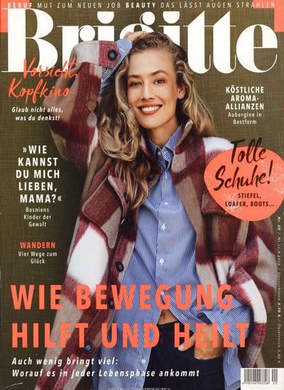 cover zeitschrift brigitte