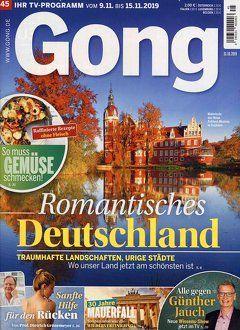 Cover Zeitschrift Gong