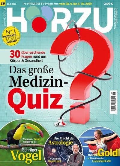 Cover Zeitschrift Hoerzu