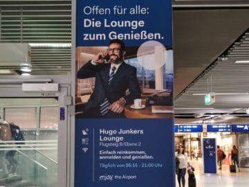 hugo junkers lounge duesseldorf plakat