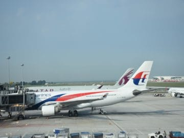 malaysia airlines flugzeug