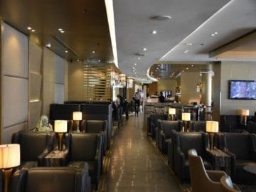 plaza premium lounge kuala lumpur klia1 blick vom hinteren bereich