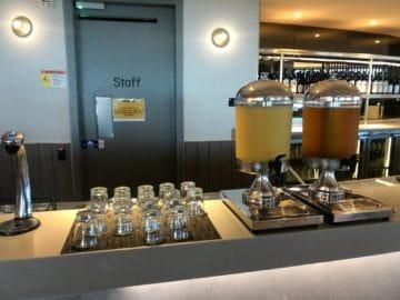 qantas business lounge brisbane auswahl saefte
