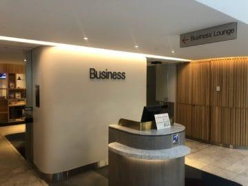 qantas business lounge brisbane eingang business lounge