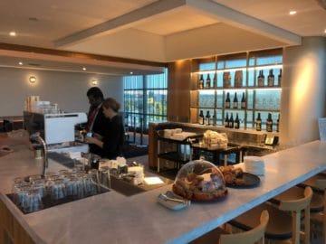 qantas business lounge brisbane kaffee bar