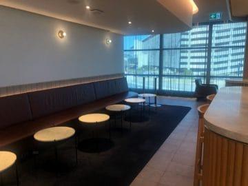qantas business lounge brisbane kleine tische