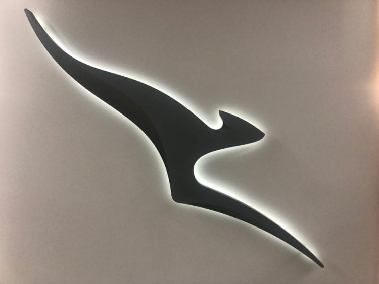 qantas business lounge brisbane qantas logo