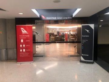 qantas business lounge brisbane separater security check