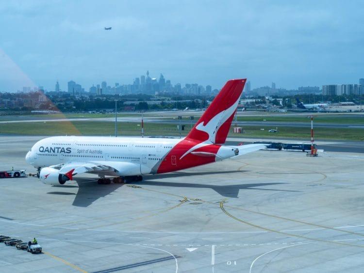 qantas first class lounge sydney qantas a380