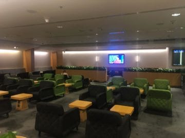 qantas lounge singapore hauptbereich der lounge