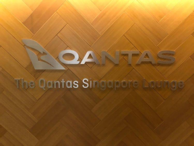 qantas lounge singapore qantas logo singapore