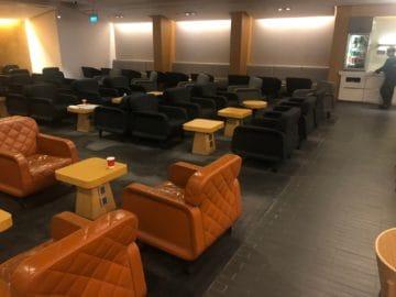 qantas lounge singapore sessel rot
