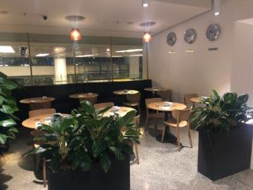 qantas lounge singapore tische stuehle
