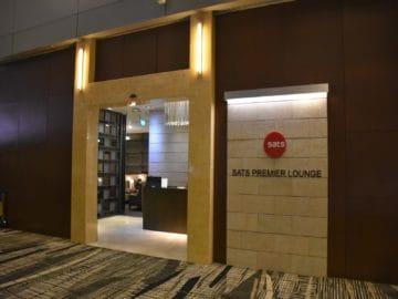 sats premier lounge singapur terminal 3 eingang