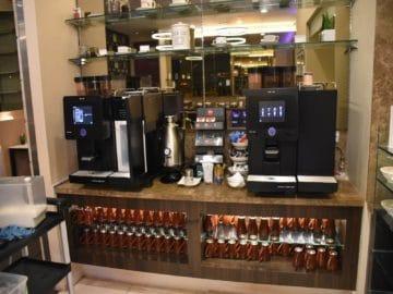 sats premier lounge singapur terminal 3 kaffeeautomaten