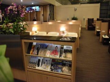 sats premier lounge singapur terminal 3 zeitschriften