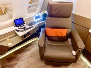 singapore airlines suites class 380 800 suite 3