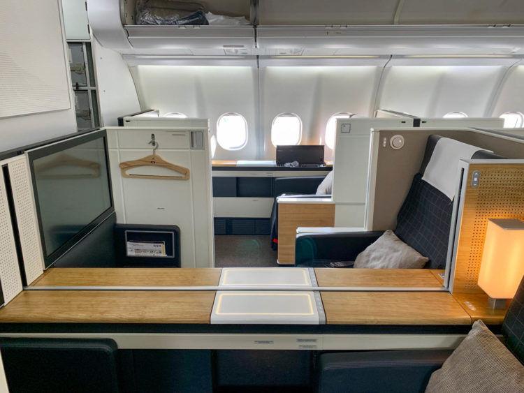 swiss first class a340 300 kabine 5