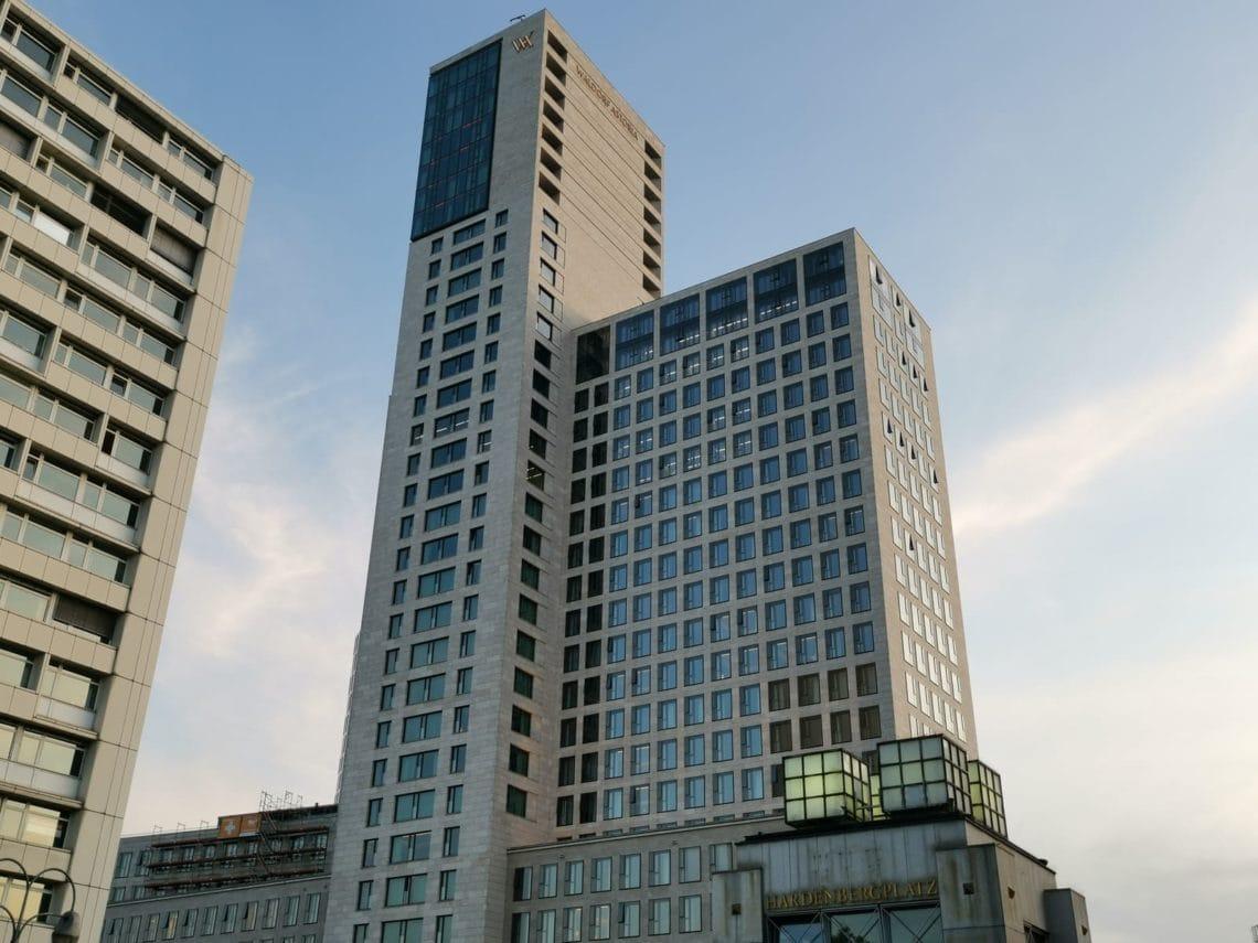Waldorf Astoria Berlin Hotel Außen