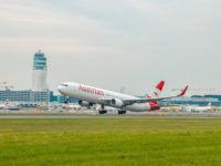 austrian 767 flughafen wien abflug copyright