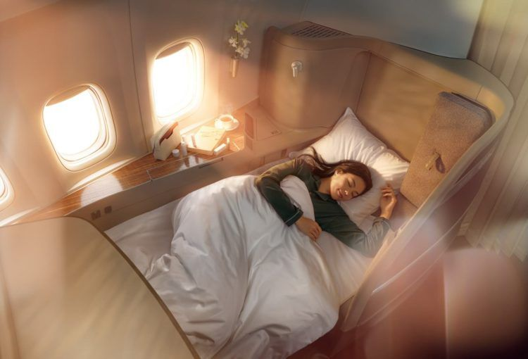 cathay pacific new first class experience copyright
