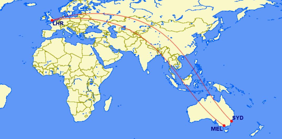 Bekommt der A350-1000 diese Ultralangstrecken der Qantas?