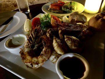 hilton seychelles labriz 4th degree restaurant fisch 2