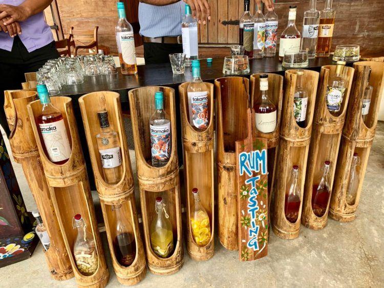 Hilton Seychelles Labriz Rum Tasting 2