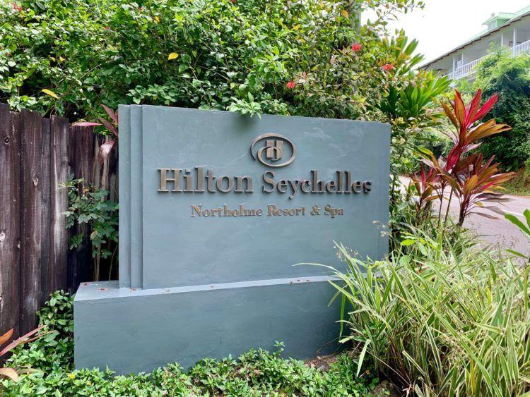 Hilton Seychelles Northolme Eingang