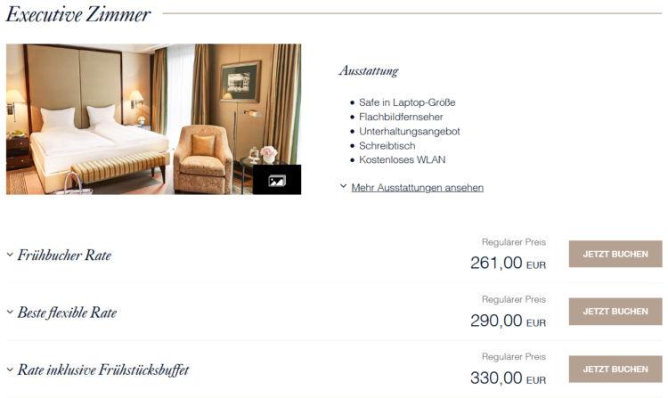 Hotel Adlon Kempinski Berlin Hotelwebseite