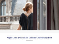 Hyatt Unbound Collection Promotion