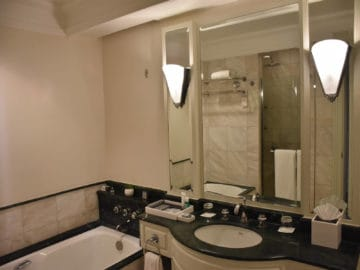 jw marriott surabaya badezimmer