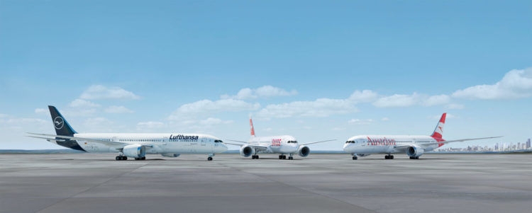 lufthansa swiss austrian 787 render copyright