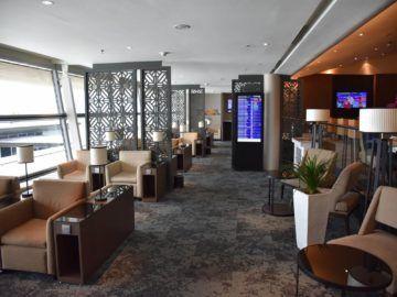 malaysia airlines golden lounge kuala lumpur satellit fensterfront