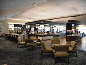 malaysia airlines golden lounge kuala lumpur satellit hinterer teil der lounge