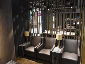 plaza premium lounge langkawi sitzecke