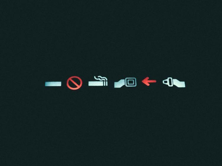 Rauchen Verboten Anschnallzeichen Unsplash