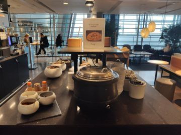 sas business lounge oslo oatmeal