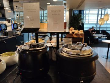 sas business lounge oslo suppen