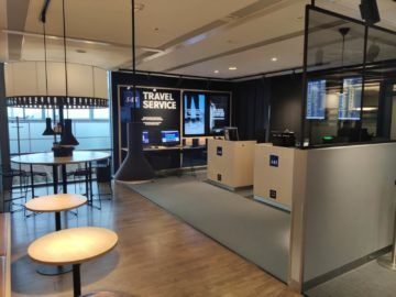 sas business lounge oslo travel service