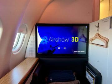 swiss first class a340 300 airshow 4