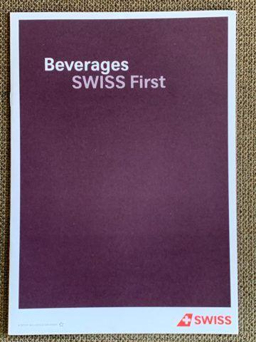 swiss first class a340 300 getraenke menu zurich shanghai 1
