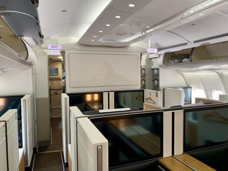 swiss first class a340 300 kabine 10