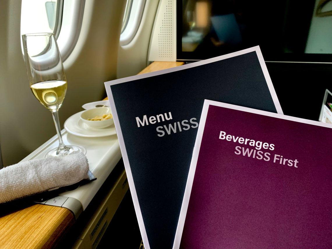 Swiss First Class Menü