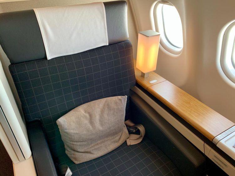 Swiss A340 First Class - Sitz 1A